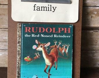 Little Golden Book Rudolph The Red Nose Reindeer 1958