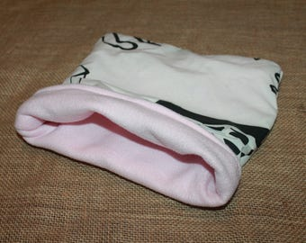 MEDIUM Artistic Pink Pocket Pet Pouch- guinea pigs, rats, rodents, hedgehogs and more!
