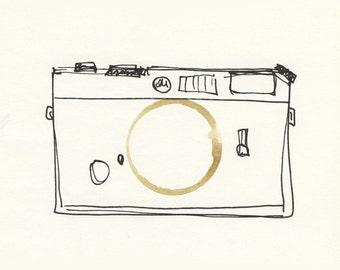 Illustration - Coffeedoodle No. 06 - Leica/Camera