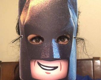 8 Lego Batman Movie Party Favors Face Masks | Superhero | Marvel