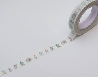 Washi tape Birds cage