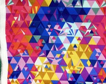 Ex Libris Geometry sunset Alison Glass Andover fabrics FQ or more