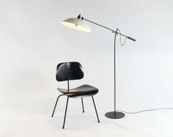 Modern Gerard Thurston Inspired Adjustable Floor Lamp