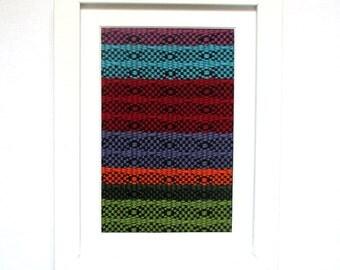 Framed Weaving No. 3