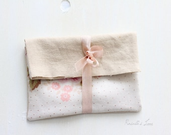 "Ready to ship Set of 4   4""x6"" floral envelopes"