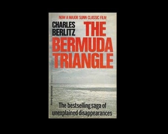 1970s Paperback: The Bermuda Triangle, by Charles Berlitz. Vintage Book.