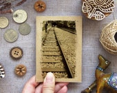 Railway Notebook 36 - Train Track, Taiwan - Small Travel Notebook Mini Pocket Size