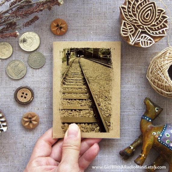 Railway Notebook 36 - Train Track, Taiwan - Small Travel Notebook Mini Pocket Size
