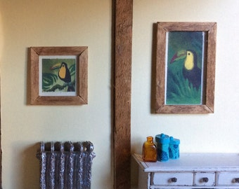 Minature Toucan Paintings