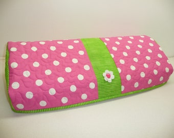 Silhouette Cameo 3 Cover - Delightful Dots  - Quilted Cameo 3 Cozy
