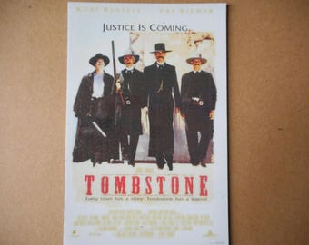 Magnet- Tombstone movie poster Kurt Russell Val Kilmer