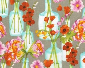 Christmas Sale Michael Miller Fabric - Half Yard Posie Bouquet in Bloom