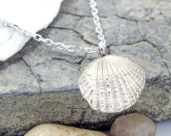 Shell Necklace Sterling Silver