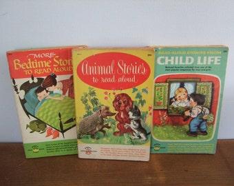 Vintage Read Aloud Stories Wonder Books Collection