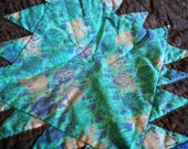 Space Lanterns quilt, outer space inspired, baby quilt, toddler quilt, lap quilt