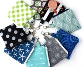 Essential Oil Travel Bags - Keychain Pouch - Essential Oil Pouch - Gift for Mom - Handmade by Zookaboo - YOU Choose Print