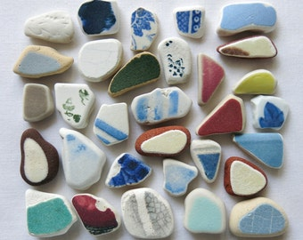 English Beach Finds - Pottery Pieces -Lot DC997