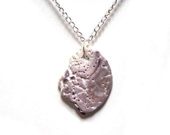 Purple Pendant from the Sea