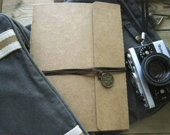 DIY Kraft Paper Vintage Scrapbook Album - Somewhere in Time