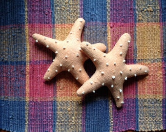 Starfish Pillow Summer Beach Decor Bowl Filler Handmade JKB