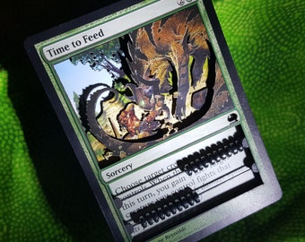 Layer Art- 3D- Life Counter: Time to Feed - Magic the Gathering