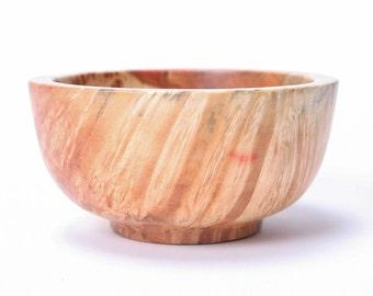 """Boxelder Burl Wooden Bowl #1541 4"""" X 2"""""""