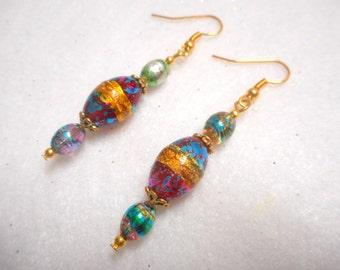 Easter Earrings, Easter Jewelry, Easter Egg Earrings, Easter Egg Jewelry, Easter Basket Gift Jewelry, Spring Jewelry, Easter Bunny Earrings