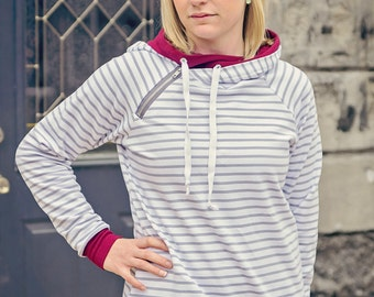 TAMI Revolution Hoodie pattern Sizes xx-small, x-small, small, medium, large, xl, 2x, 3x