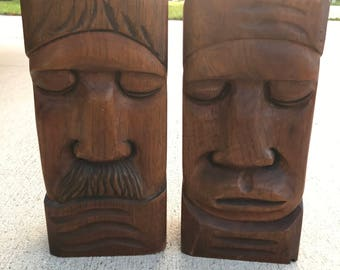 Arias Wood Carved Mexican Sculptures