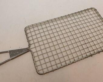 Acme Safety Grater - Acme Grater - Vintage Tin Grater - Nutmeg Grater - Kitchen Primitive - Tin Kitchen Tool