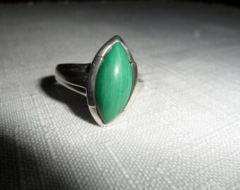 Vintage Gemstone Ring Size 10