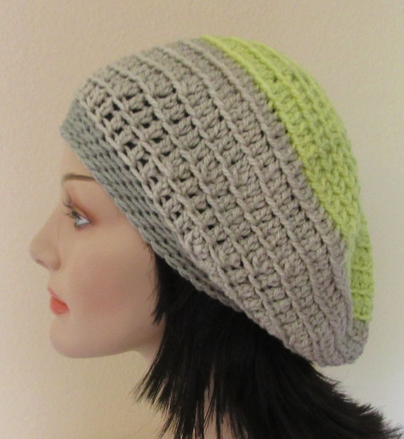Slouchy Hat Cold Weather Accessory Beige Slouchy Grey Slouchy