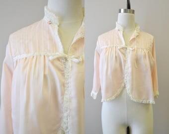 1960s Pink Bed Jacket