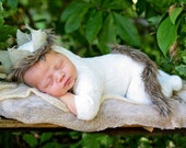 Handmade photo prop Newborn size  Where the Wild Things Are Crown Only