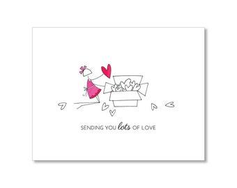 SENDING LOVE Love Card