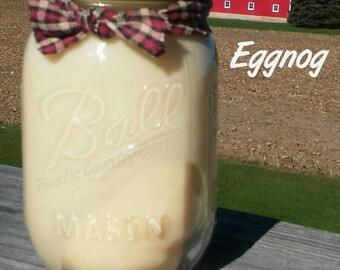 Eggnog Soy Candle in 16 oz Jar