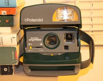 Polaroid OneStep Express: 600 Instant Film Camera