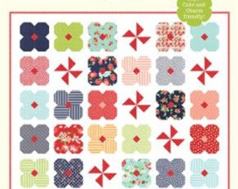 Wild Flowers Paper Pattern CW 1008 by Cotton Way