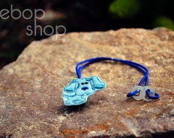 Blue Dog - Hearing Aid Cord or Cochlear Implant Cord