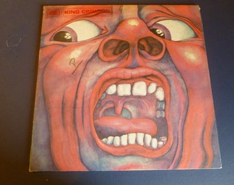 In The Court Of The Crimson King Vinyl Record SD 8245 1969 Atlantic Records
