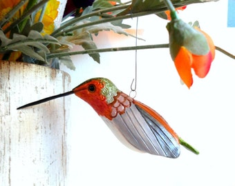 clay bird hummingbird