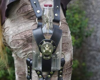 Gin Flask / Bottle Leg Holster