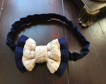 Flower Girl Headband Handmade by Two L Creations