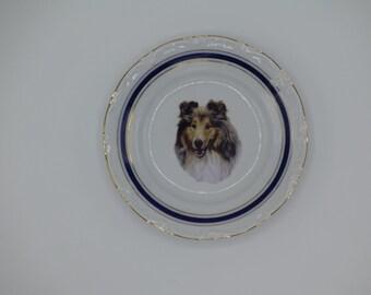 Sheltie Dog Plate