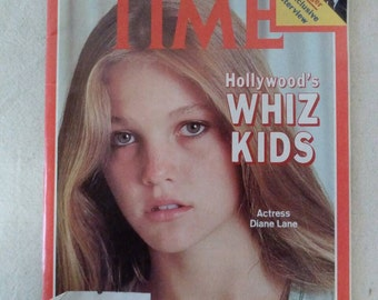 Collectible Time Magazine August 13, 1979 Hollywood's Whiz Kids Diane Lane Cover Very Good Condition Great Ads
