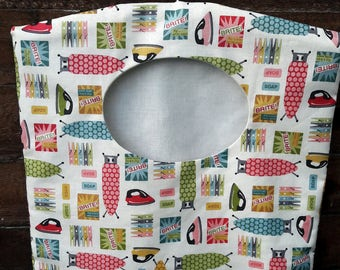 Clothes pin bag, laundry bag, peg laundry bag, peg bag, housewarming gift, eco friendly, hostess gift, clothespin bag
