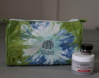 Make Up Bag, Travel Bag, Pencil Case, Tie Dye Cosmetics, Small Cotton Bag, Travel Organization, Purse Organization, Tie Dye, Beach Glass