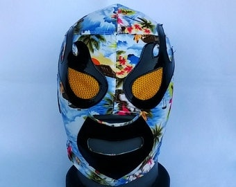 Lost Acapulco Wrestling Mask Mardi Gras day of the dead halloween party masks Horror movie masquerade mask Luchador Reverendo Mask