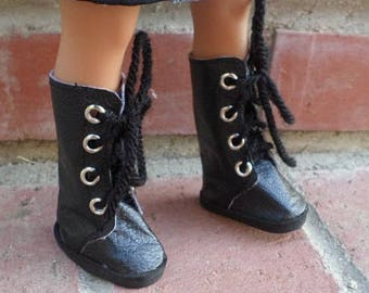 tall lace up boots for 14 inch dolls