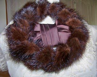 Vintage Mink Hat